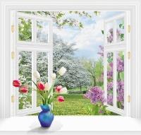 За окном весна 140х145 (6 листов)