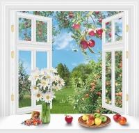 За окном лето140х145 (6 листов)